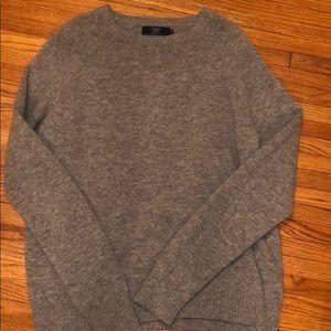 J Crew men's wool sweater